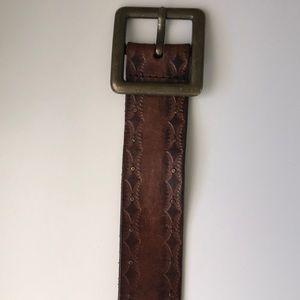 Old Navy Brown Belt Size S